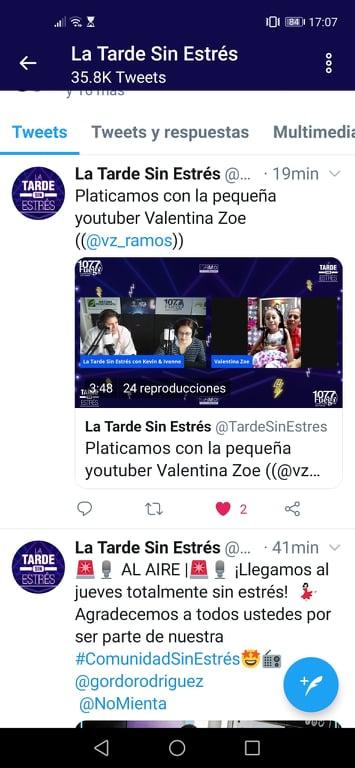Entrevista 1077 Radio Fuego Valetina Zoe