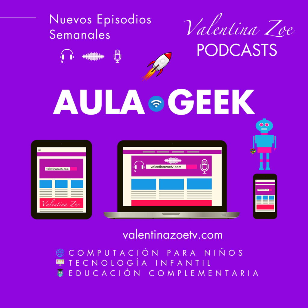 Aula Geek Valentina Zoe