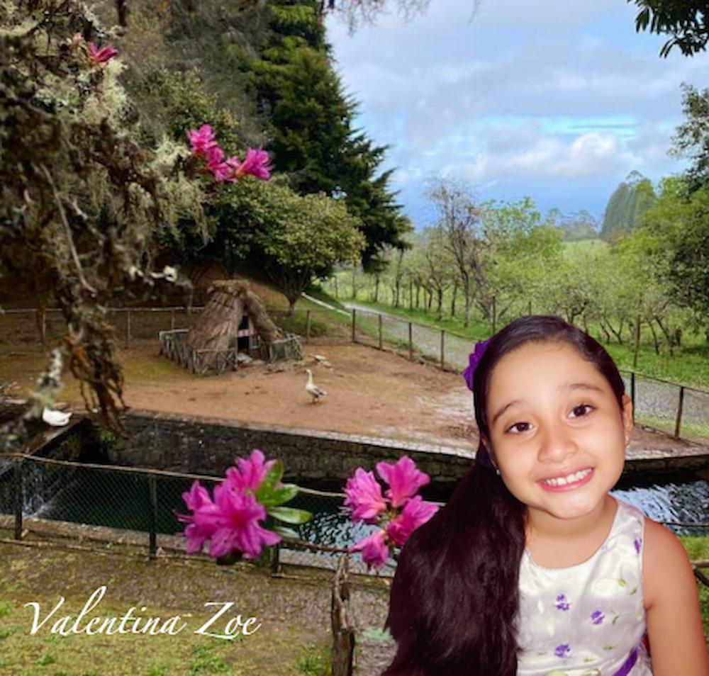 Valentina Zoe Tv Jardin