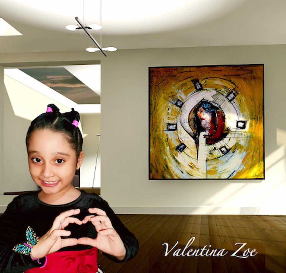 Valentina Zoe Tv Pintura