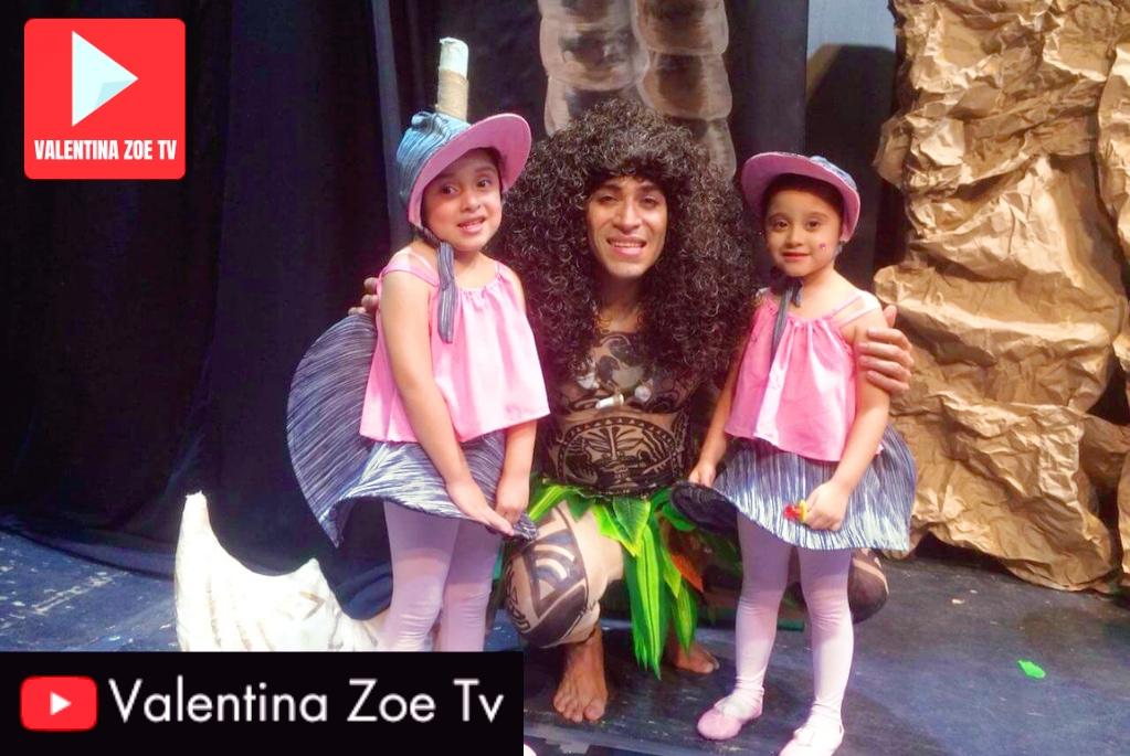 Moana Valentina Zoe Tv Teatro Presidente 8