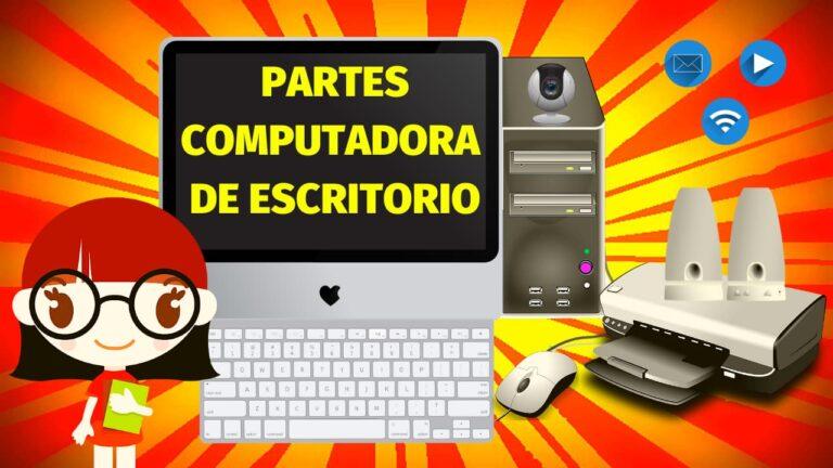Lee más sobre el artículo Partes de la Computadora para Niños | Aula Geek